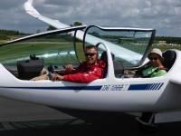 Segelflieger-Startklar